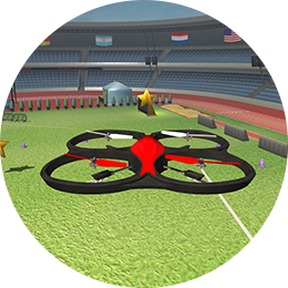 the new AR.Drone simulator